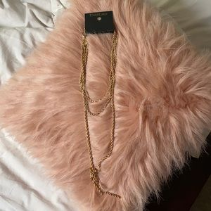 Brand new with tags gold necklace